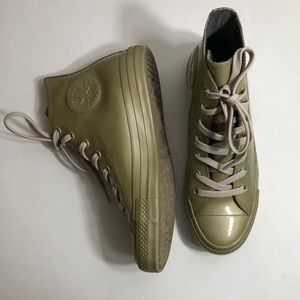 Converse All Star high top rubber climate sneakers